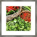 Chillies 07 Framed Print