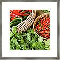 Chillies 08 Framed Print