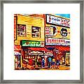 Chinatown Markets Framed Print