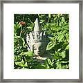 Chinese Garden Gnome Framed Print