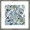 Chinoiserie Blue Framed Print
