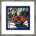 Christmas Bridge Framed Print