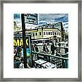 Christopher Street Greenwich Village  Framed Print