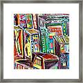 Cin City Framed Print