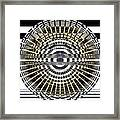 Circles And Stripes 5 Framed Print