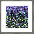 City Of Passion Framed Print