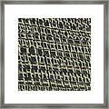 City Windows Abstract Framed Print
