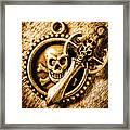 Clash Of The Dead Framed Print