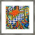 Climbing Abstractly  Framed Print