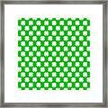 Clover Titled  - Pattern Framed Print