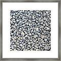 Coarse Gravel Framed Print
