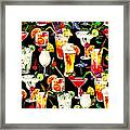 Cocktail Hour In The Tropics Framed Print
