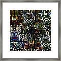 Coctails At Five Framed Print