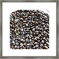 Coffee Beans From Brazil  Framed Print
