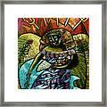 Coffee Goddess Framed Print