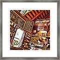 Coffee House Framed Print