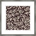 Coffee In Grain Framed Print