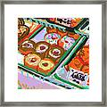 Coligny Donuts Framed Print