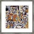 Colonial Heritage - Panel 1 Framed Print