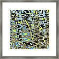 Color Combo Abstraction Framed Print