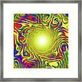 Color Funnel Framed Print
