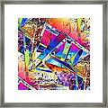 Color Me Abstract Framed Print