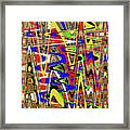 Color Mix Fun Abstract Framed Print