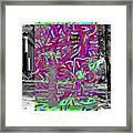 Colored Framed Print