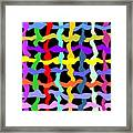 Colorfield Theory, No. 2 Framed Print