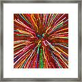 Colorful Abstract Photography Framed Print