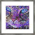 Flower Cat 2 Framed Print