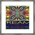 Colorful Dreams Motivational Artwork By Omashte Framed Print