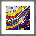 Colorful Dymensions Framed Print