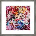 Colorful Expression 12 Framed Print