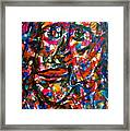 Colorful Expression-7 Framed Print