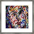 Colorful Expression-8 Framed Print