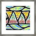 Colorful Longfish Framed Print