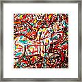 Colorful Nude 1 Framed Print