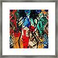 Colorful Nude Framed Print