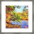 Colorful Reflections Framed Print by Kristin Elmquist