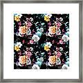 Colorful Roses Framed Print
