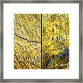 Colorful Slate Tile Abstract Composite H2 Framed Print