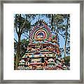 Colorful Temple, Valparai Framed Print