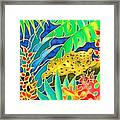 Colorful Tropics 4 Framed Print