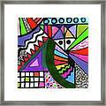Colors Gone Wild Framed Print