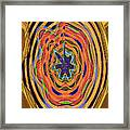 Columbia River Abstract #8045 Framed Print