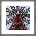 Coney Island Parachute Jump 01 Framed Print