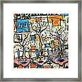 Connected Framed Print by Robert Wolverton Jr