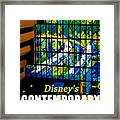 Contemporary Window To The World Framed Print