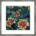 Contrasting Colors Digital Art Framed Print